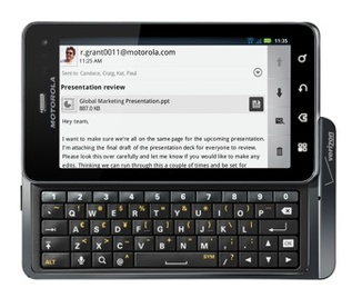 Droid 3 now available for pre-order from Verizon