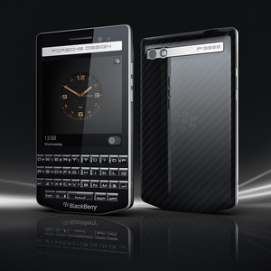 BlackBerry shows off Q10 with Porsche Design