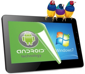ViewSonic reveals tablet with dual-boot Android, Windows 7
