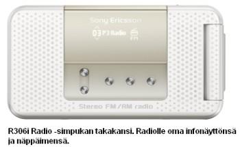 Sony Ericsson R306i Radio