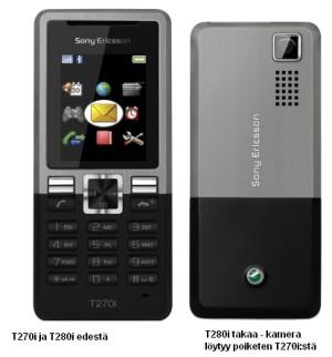 Sony Ericsson T270i ja T280i
