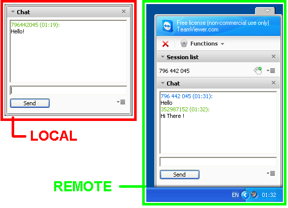 remote assistance with teamviewer remote desktop file transfers