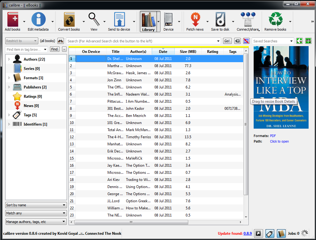 Download Calibre 3.13